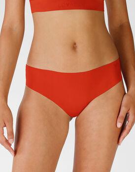Slip midi Invisi Comfort in microfibra, rosso mattone, , LOVABLE