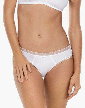 Slip My Daily Comfort bianco in microfibra-LOVABLE
