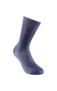Calzino corto blu in filoscozia-LOVABLE