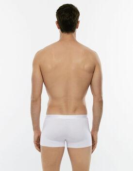 Boxer Invisible Cotton bianco in cotone elasticizzato-LOVABLE
