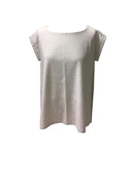 T-shirt con scollo a barchetta, bianca, , LOVABLE