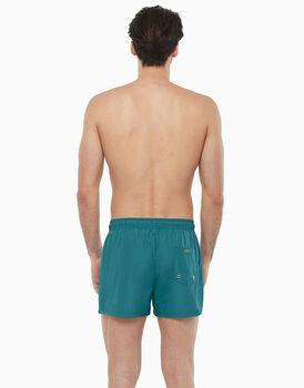 Short boxer in tessuto tecnico asciugatura rapida, verde stampato, , LOVABLE