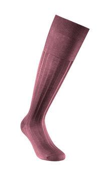 Calza uomo bordeaux lunga in cotone e poliestere-LOVABLE