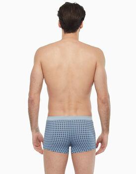 Short Boxer in cotone modal, stampa a quadri, , LOVABLE
