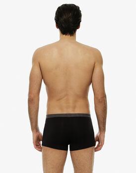 Short boxer, cioccolato, in cotone modal-LOVABLE