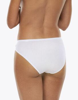 Slip tai lovely, bianco in cotone soft, , LOVABLE