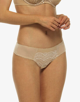 Brasiliano Celebrity skin in pizzo e tulle-LOVABLE