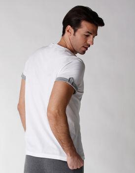 T-shirt manica corta 100% cotone, bianco, , LOVABLE