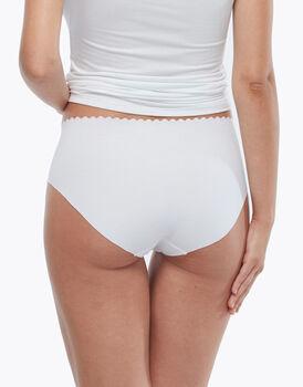 Slip vita alta Invisible Comfort in cotone, bianco, , LOVABLE