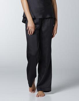 Pantalone in satin, nero, , LOVABLE