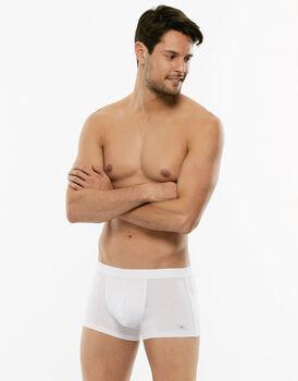 Short boxer Cotton Stretch bianco in cotone elasticizzato -LOVABLE
