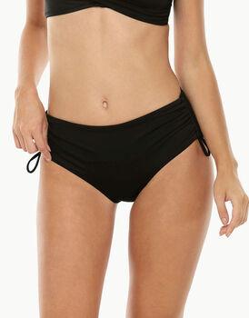 Bikini slip alto nero in microfibra-LOVABLE
