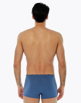 Boxer blu polvere in cotone modal, , LOVABLE