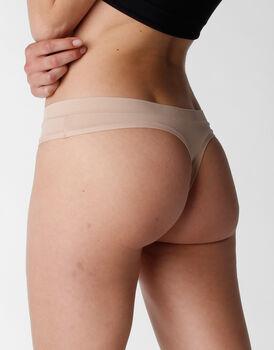 Perizoma Body Bliss in microfibra, skin, , LOVABLE