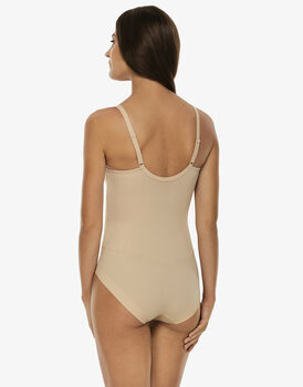 Body in microfibra con ferretto ultimate modelling, skin. Medio sostegno., , LOVABLE