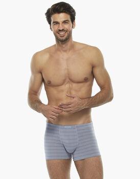 Boxer uomo in micromodal, grigio chiaro, , LOVABLE