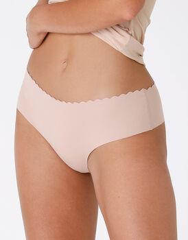 Culotte Invisible Comfort in cotone, color nude, , LOVABLE