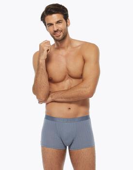Boxer uomo in cotone supima, azzurro polvere, , LOVABLE