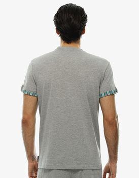 Maglia maniche corte, grigio mélange, in jersey-LOVABLE