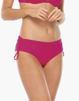 Bikini Slip Alto Geranio in microfibra-LOVABLE
