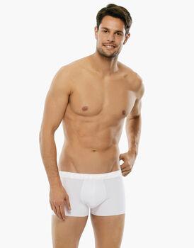 Boxer in cotone elasticizzato, bianco, , LOVABLE