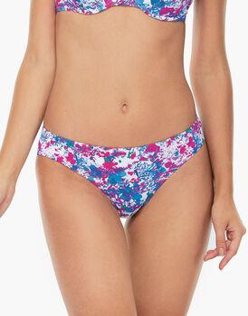 Bikini Slip Medio Stampa fiori in microfibra-LOVABLE