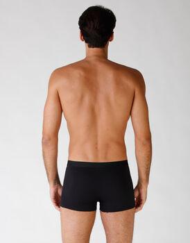 Boxer in cotone elasticizzato, confezione x4 nero, , LOVABLE