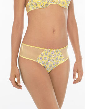 Culotte brasiliano stampa margherite-LOVABLE