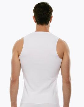 Smanicato in cotone elasticizzato, bianco, , LOVABLE