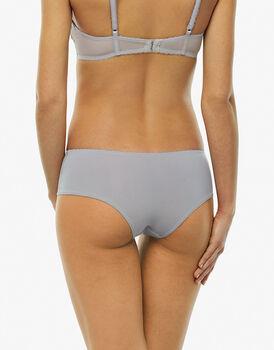 Culotte brasiliano grigio in microfibra con lurex-LOVABLE