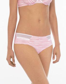 Culotte Brasiliano rosa e righe-LOVABLE