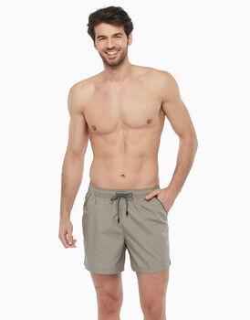 Boxer in tessuto SLUB cotton tinto filo, , LOVABLE