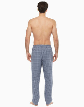 Pantalone in tela, blu a quadri, , LOVABLE