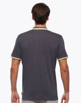 Polo in cotone, grigio scura, , LOVABLE
