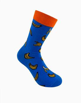 Calzini corti crazy socks, fantasia bananas, , LOVABLE