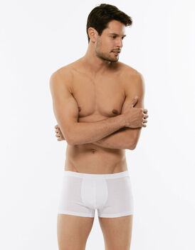 Short boxer 100% Pure Cotton bianco in cotone-LOVABLE