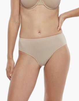 Slip midi Invisible Cotton skin in cotone. Massima invisibilità, , LOVABLE