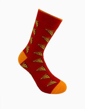 Calzini corti crazy socks, fantasia pizza, , LOVABLE