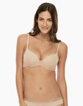Reggiseno push up con ferretto My Daily Comfort, skin, in microfibra ultra soft-LOVABLE