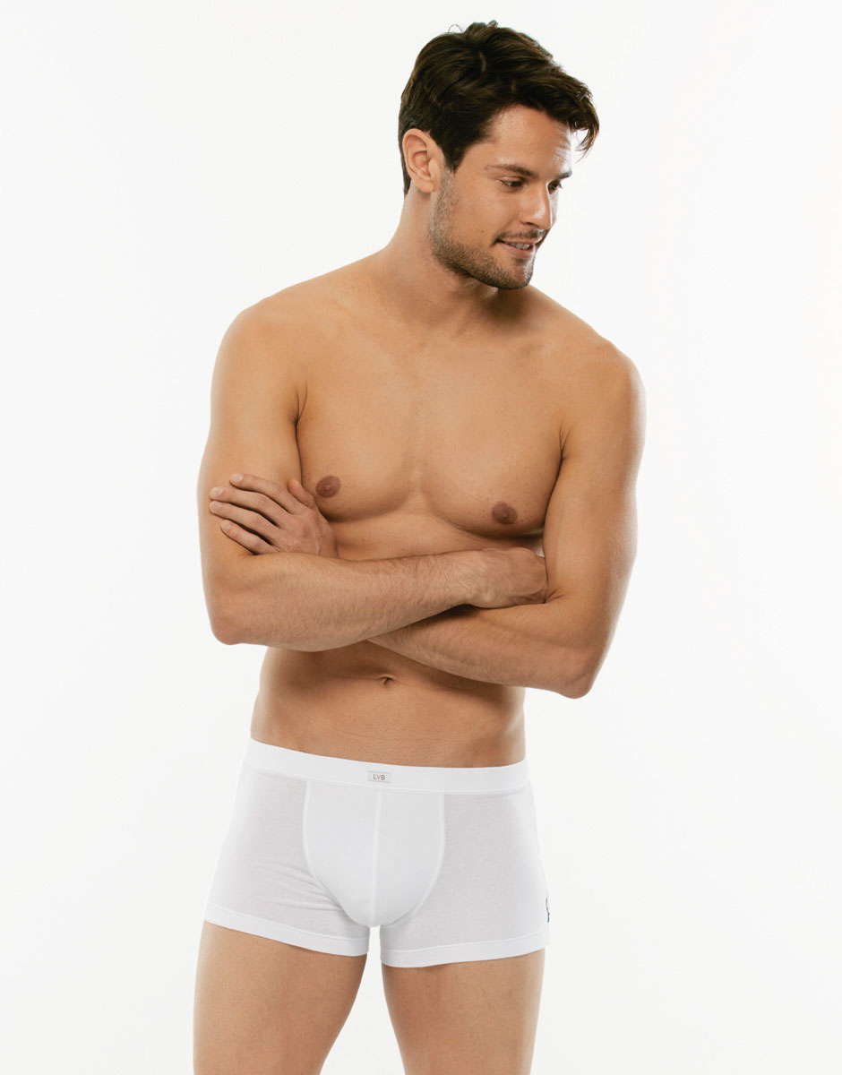 Boxer 24h Freshness bianco in cotone elasticizzato-LOVABLE
