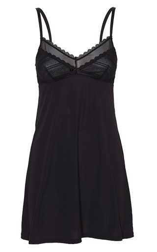 sottoveste graphic lace