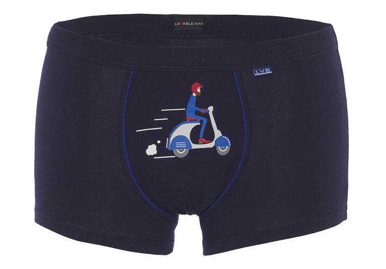 Short boxer blue