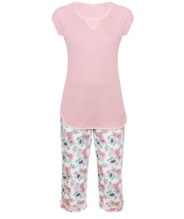 pigiama oriental flowery
