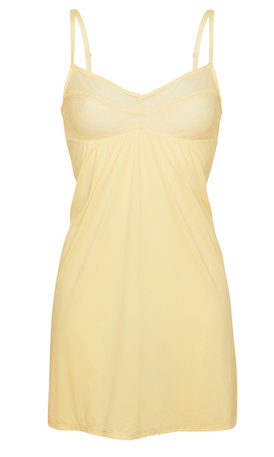 sottoveste yellow tulle